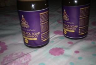 African black soap cleansing shampoo (500ml)