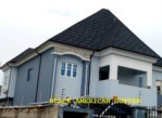 American roof gutter profile for modern building in Lagos