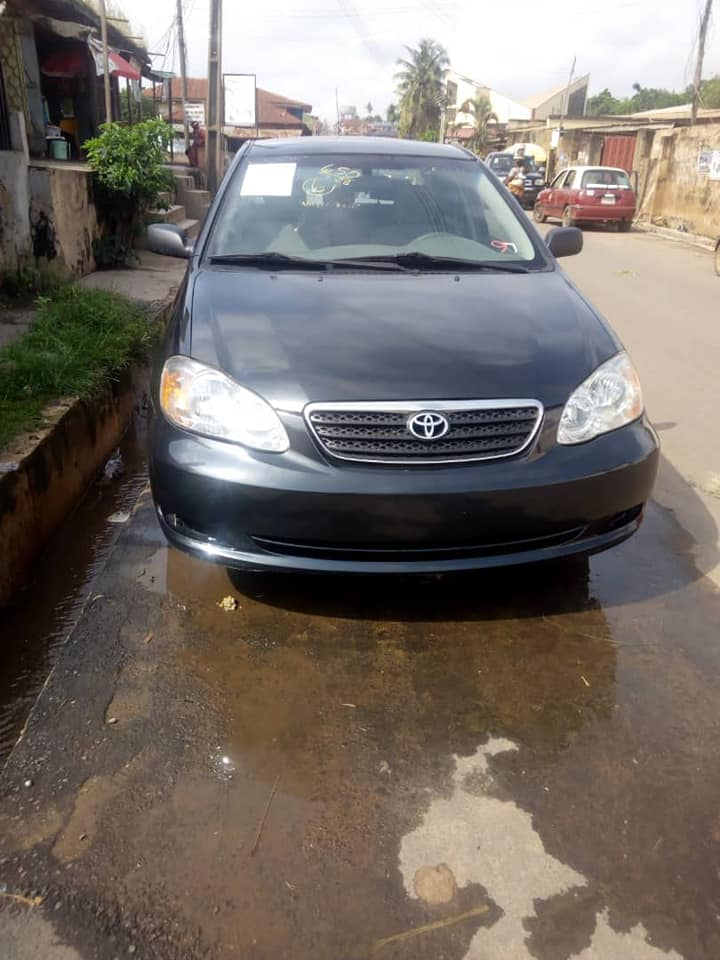 2006 Toyota Corolla Foreign Used