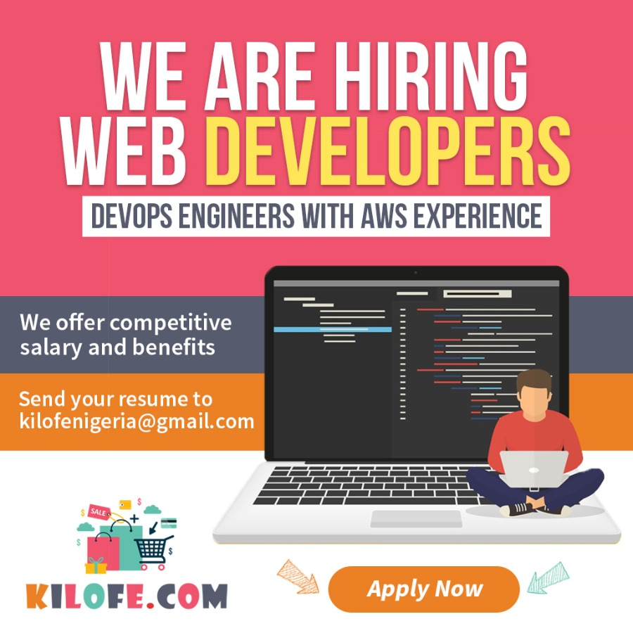 Senior DevOps Engineer with AWS experience wanted in Lagos