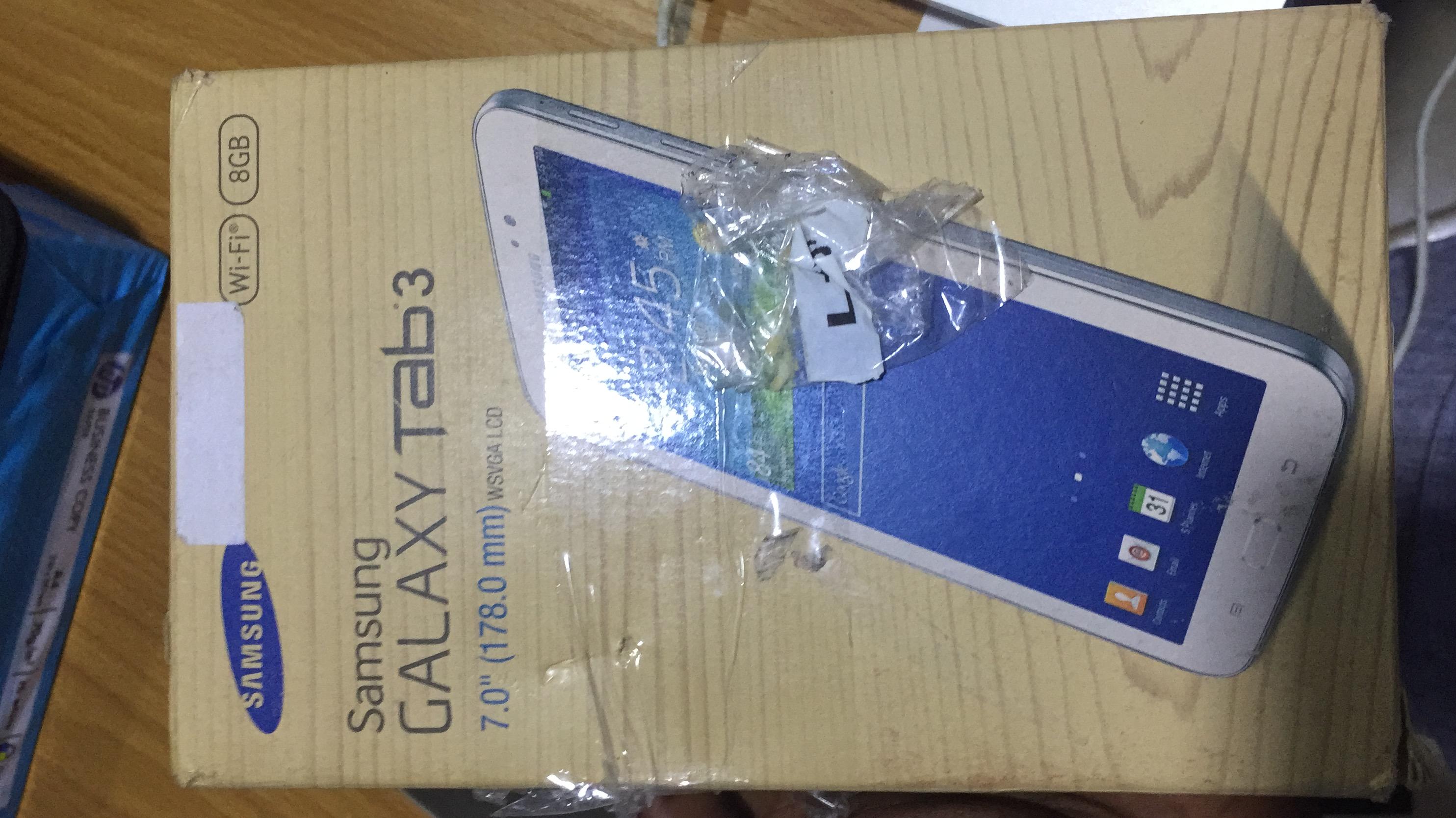 Brand new Samsung galaxy tab 3